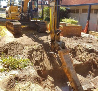 Sevenoaks Senior High School, Sewer Pump Station Upgrade