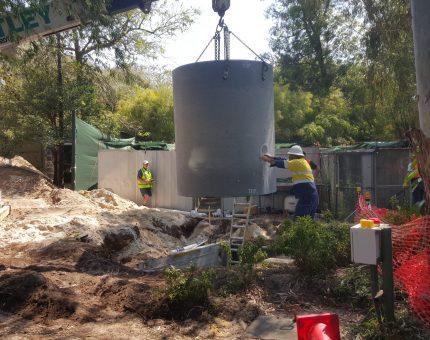 Perth Zoo, Sewer Pump Station upgrade