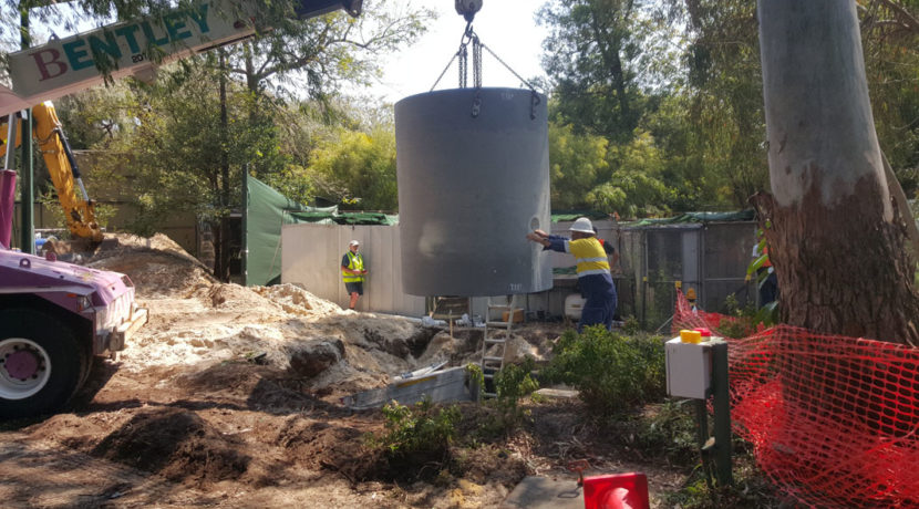 Perth Zoo, Sewer pump Station upgrade
