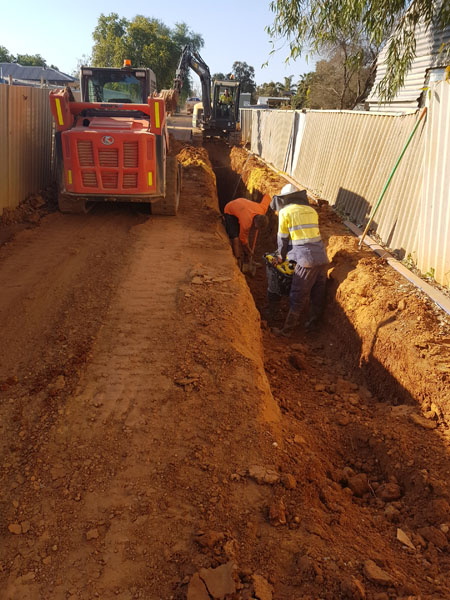 Annetts Road Sewer upgrade