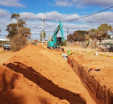 Tjuntjuntjara Community Sewer Installation